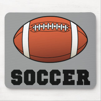 Soccer Futball Football Mouse Pad