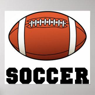Soccer Futball Football Poster