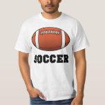 Soccer Futbol Futball Football T-Shirt