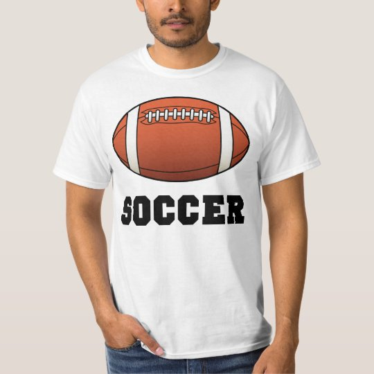 Soccer Futbol Futball Football T-Shirt