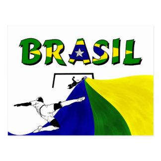 Soccer (Futbol) Postcard