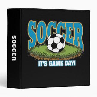 Soccer Game Day 3 Ring Binder