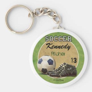 Soccer Game Keychain