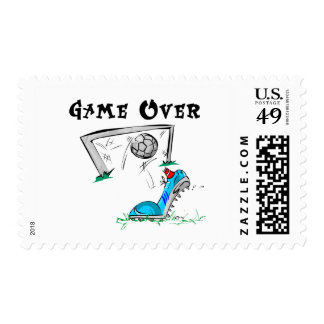 Soccer Game Over Tshirts and Gifts Stamp