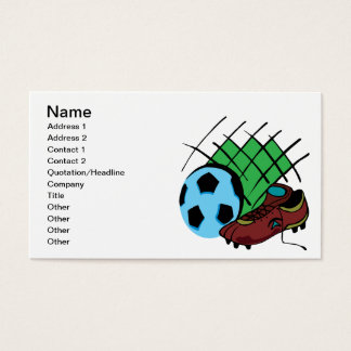 Soccer Gear Business Card