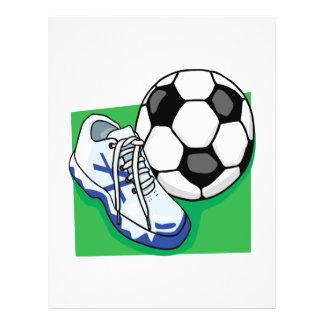 """Soccer Gear 8.5"""" X 11"""" Flyer"""