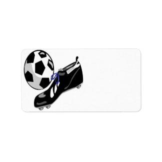 Soccer Gear Label