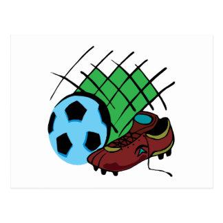Soccer Gear Postcard