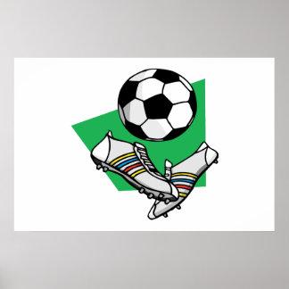Soccer Gear Poster