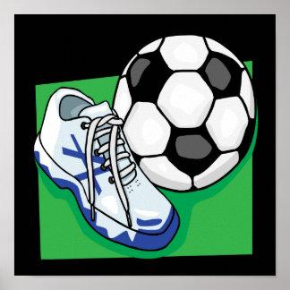 Soccer Gear Print