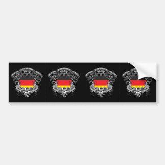 Soccer Germany Bumper Sticker