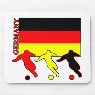 Soccer Germany Mouse Pads
