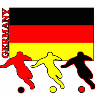 Soccer Germany Acrylic Cut Outs