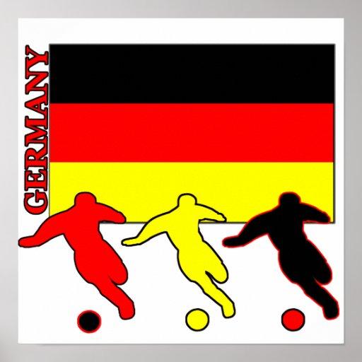 Soccer Germany Poster