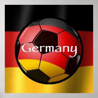 Soccer Germany Rio Brazil Poster