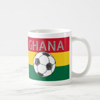 Soccer, Ghana Coffee Mug