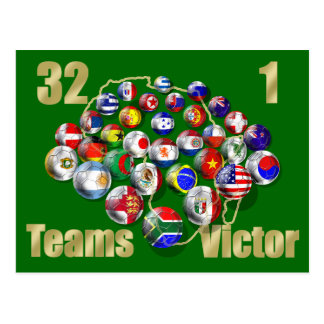 Soccer Gifts for soccer fans and coaches Postcard