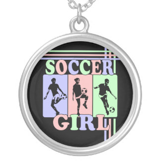 Soccer Girl Award Gift Necklaces