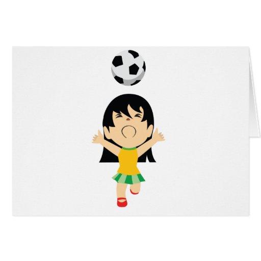 Soccer Girl Cards
