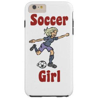Soccer Girl Tough iPhone 6 Plus Case
