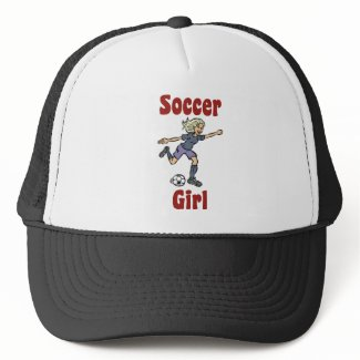 Soccer Girl Hat hat