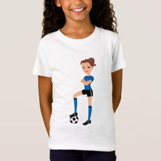 Soccer Girl Illustrated Tee