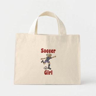 Soccer Girl Tote Bag Mini Tote Bag