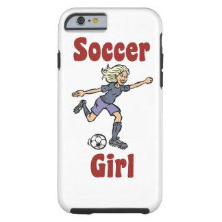Soccer Girl Tough iPhone 6 Case