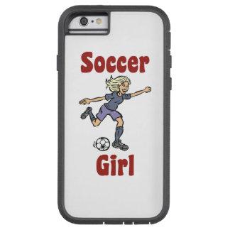 Soccer Girl Tough Xtreme iPhone 6 Case