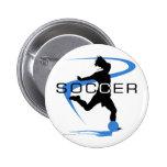Soccer - Girls - Blue Pins