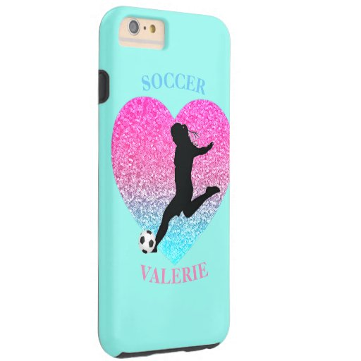 Soccer Girls Mint Case-Mate iPhone Case