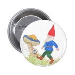 Soccer Gnome Button