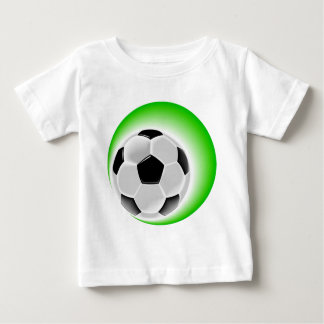 Soccer goal and success baby T-Shirt