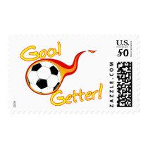 Soccer Goal Getter Postage