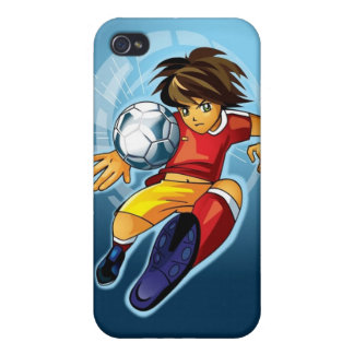 Soccer Goal iPhone 4 Speck Case