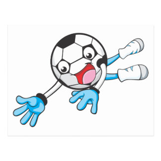Soccer Goal Keeper Postcard