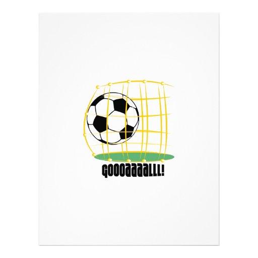 Soccer Goal Letterhead