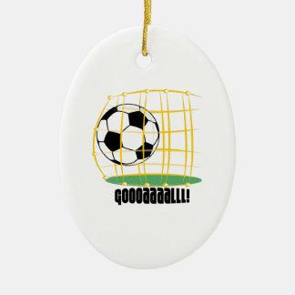 Soccer Goal Ornaments