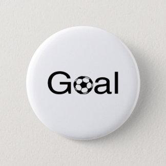 Soccer Goal Pinback Button