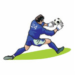 soccer goalie block graphic photo cut outs