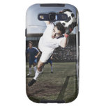 Soccer goalie catching soccer ball samsung galaxy SIII covers