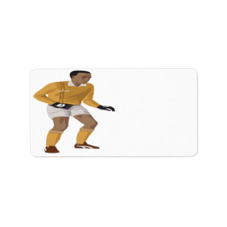 Soccer Goalie Personalized Address Labels