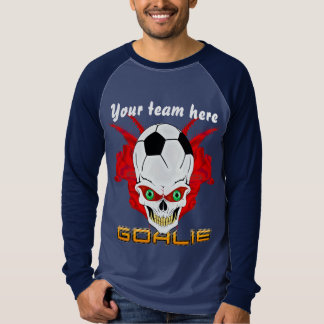 Soccer Goalie Mens All Styles Dark View Hints T-Shirt