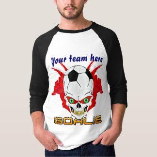 Soccer Goalie Mens All Styles Light View Hints T-Shirt