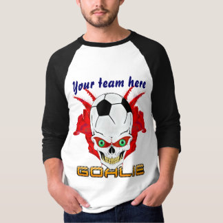 Soccer Goalie Mens All Styles View Hints T-Shirt