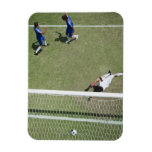 Soccer goalie missing soccer ball flexible magnet