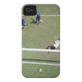Soccer goalie missing soccer ball iPhone 4 cover
