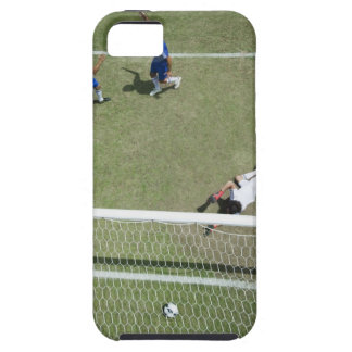 Soccer goalie missing soccer ball iPhone SE/5/5s case