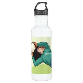 Soccer Goalie 24oz Water Bottle