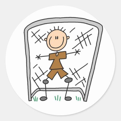 Soccer Goalie Sticker